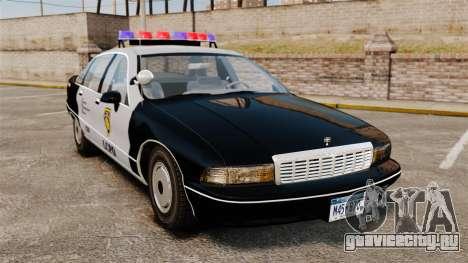 Chevrolet Caprice Police 1991 v2.0 LCPD для GTA 4