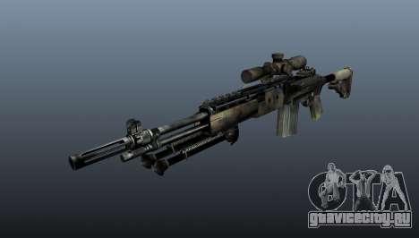 Снайперская винтовка M21 Mk14 v4 для GTA 4