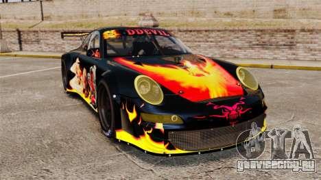 Porsche GT3 RSR 2008 Ddevil для GTA 4