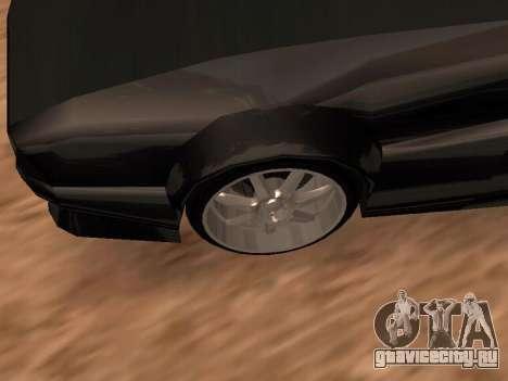 Сheetah Restyle для GTA San Andreas вид сверху