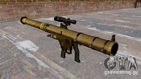 Ручной гранатомет SMAW Mk153 Mod 0 для GTA 4