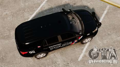 Ford Explorer 2013 Utility - Slicktop [ELS] для GTA 4 вид справа