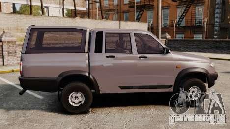 УАЗ Патриот для GTA 4 вид слева