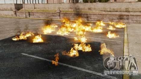 Новые эффекты взрыва и огня для GTA 4 второй скриншот