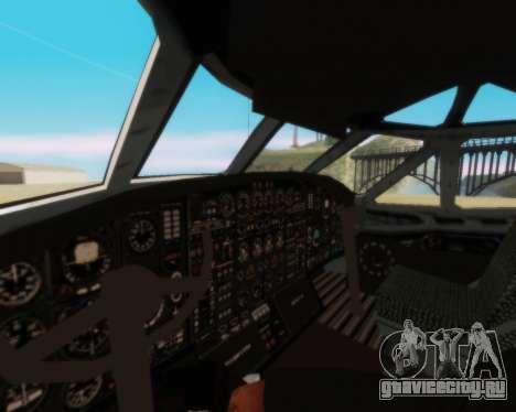 Ан-12 Аэрофлот для GTA San Andreas вид сбоку