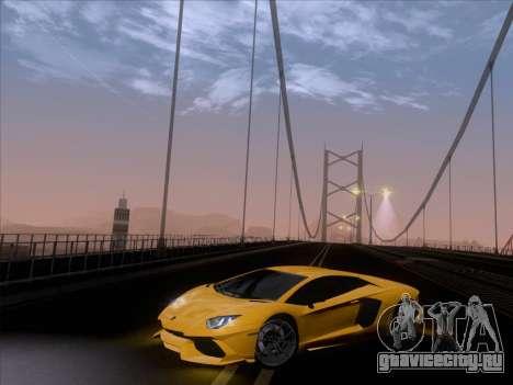 Lamborghini Aventador LP720-4 2013 для GTA San Andreas салон