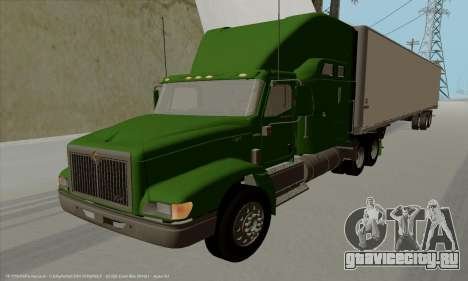 International 9400i Skyrise для GTA San Andreas вид слева