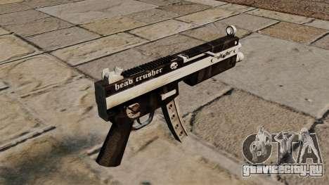Пистолет-пулемёт MP5 Head Crusher для GTA 4 второй скриншот