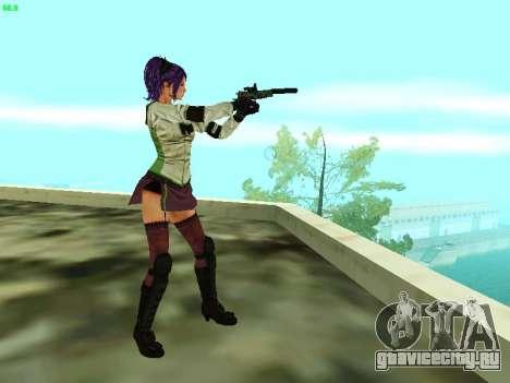 Juliet Starling для GTA San Andreas пятый скриншот