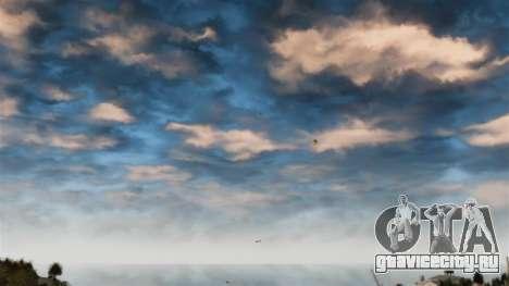 Исправление красного неба для GTA 4