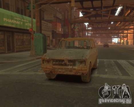 АЗЛК 2140 S.T.A.L.K.E.R для GTA 4 вид сзади