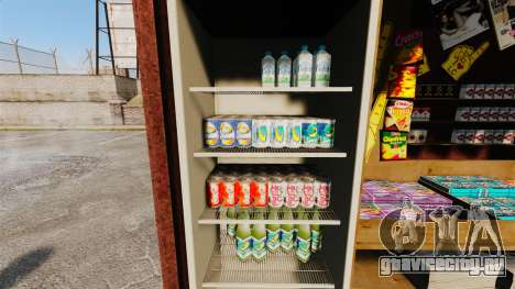 Новые товары в киоске новостей для GTA 4 второй скриншот