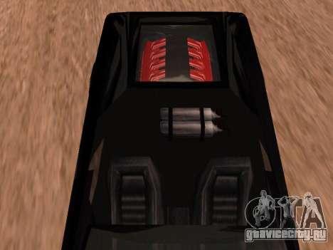 Сheetah Restyle для GTA San Andreas вид сзади