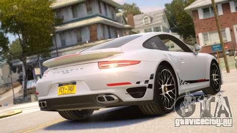Porsche 911 Turbo 2014 [EPM] для GTA 4 вид справа