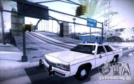 Police North Yankton для GTA San Andreas