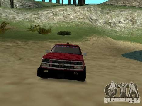 Chevrolet Silverado ATTF для GTA San Andreas вид сбоку