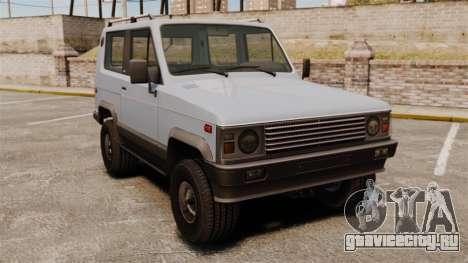 УАЗ-3170 прототип для GTA 4