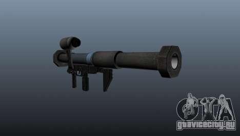 Противотанковый гранатомет Panzerfaust 3 для GTA 4 второй скриншот