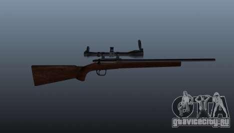 Спортивное снайперское ружьё Winchester Model 70 для GTA 4 третий скриншот