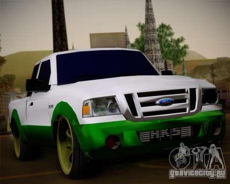 Ford Ranger 2005 для GTA San Andreas вид сверху