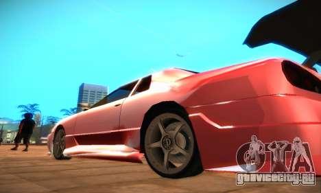 Elegy Hybrid для GTA San Andreas вид слева