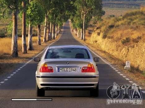Новые загрузочные экраны BMW для GTA San Andreas четвёртый скриншот