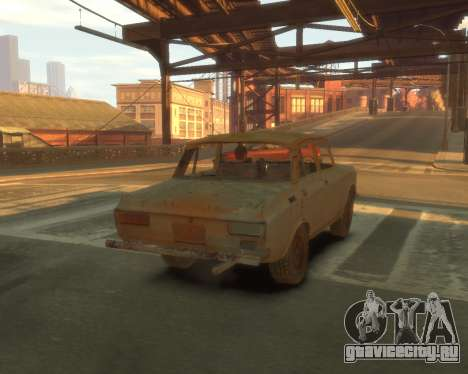АЗЛК 2140 S.T.A.L.K.E.R для GTA 4 вид изнутри
