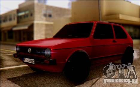 Volkswagen Golf Mk1 TAS для GTA San Andreas
