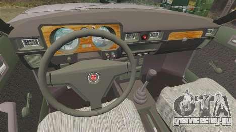 ГАЗ-31029 для GTA 4 вид сзади