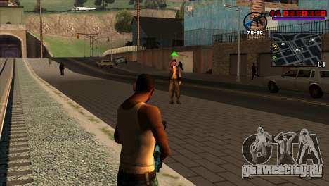 C-HUD Project Capture 6 для GTA San Andreas второй скриншот