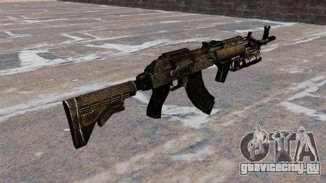 Автомат AK-47 GP-25 для GTA 4 второй скриншот