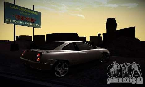 Fiat Coupe для GTA San Andreas вид справа