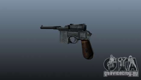 Самозарядный пистолет Mauser C96 для GTA 4 второй скриншот