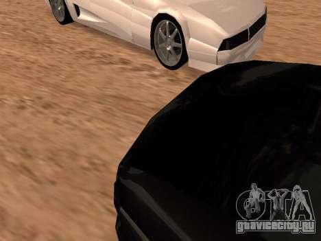 Сheetah Restyle для GTA San Andreas вид сбоку