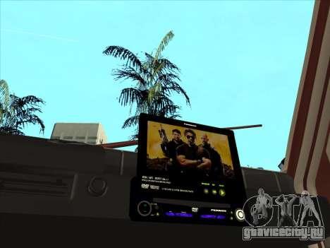 ВАЗ 1111 Ока для GTA San Andreas вид изнутри