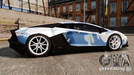 Lamborghini Aventador LP700-4 LE-C 2014 для GTA 4 вид слева