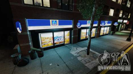 Магазины Aldi для GTA 4 четвёртый скриншот