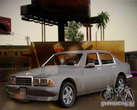 GTA III Kuruma для GTA San Andreas вид сбоку