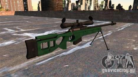 Снайперская винтовка СВ-98 для GTA 4 второй скриншот