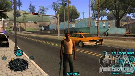 C-HUD Candy Project для GTA San Andreas третий скриншот
