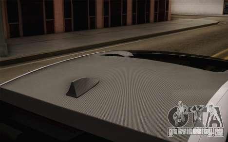 BMW M5 2012 для GTA San Andreas вид справа