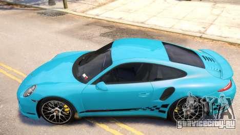 Porsche 911 Turbo 2014 [EPM] для GTA 4 вид сзади слева