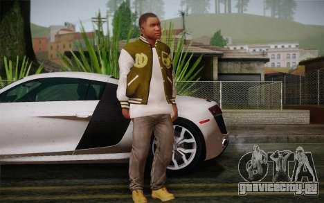 Скин Франклина v.2 для GTA San Andreas третий скриншот