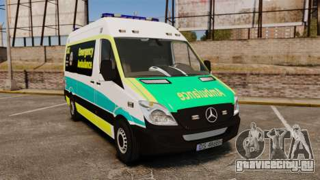 Mercedes-Benz Sprinter Australian Ambulance ELS для GTA 4