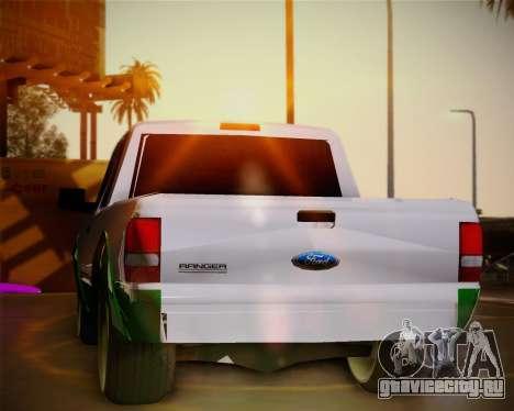 Ford Ranger 2005 для GTA San Andreas вид сбоку