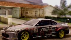 Nissan S15 Asus Team для GTA San Andreas