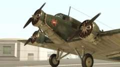 Junkers Ju-52 для GTA San Andreas