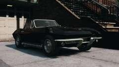 Chevrolet Corvette Stingray 427 1967 для GTA 4