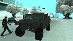 Hummer H1 из игры Resident Evil 5 для GTA San Andreas