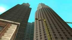 Достроенная стройка в San Fierro V1 для GTA San Andreas